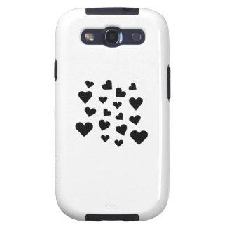 Valentine's Day Hearts Falling Samsung Galaxy SIII Case
