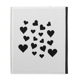 Valentine's Day Hearts Falling iPad Folio Case