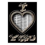 "Valentine's Day ""I love you"" - Valentine Business Card"
