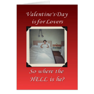 Valentine's Day is for Lovers Greeting Card