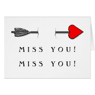 Valentine's Day long-distance relationship Greeting Card