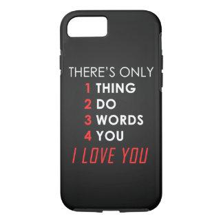 Valentines day LOVE iPhone 7 Case
