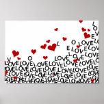 Valentine's Day Love Poster