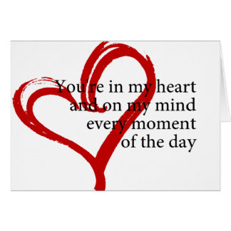Valentine's Day Love Quote Greeting Card