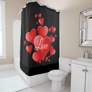 Valentine's Day Love Shower Curtain