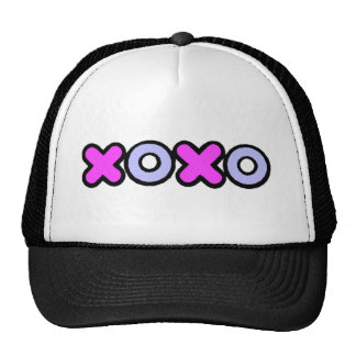 Valentine's Day Love XOXO Trucker Hats