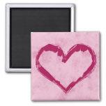 Valentine's Day Magnet Grunge Heart