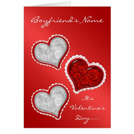 Valentines Day Marriage Proposal Card with Roses