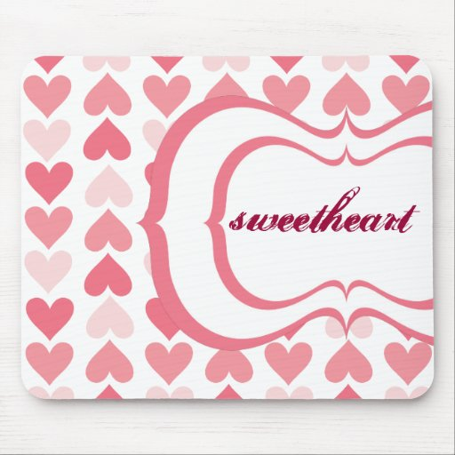 Valentine's Day Mouse Pads