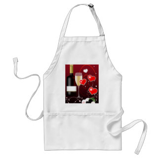 Valentines Day or Special Occasion Adult Apron