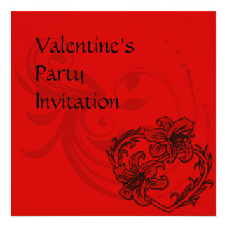 Valentine's Day Party Invitation