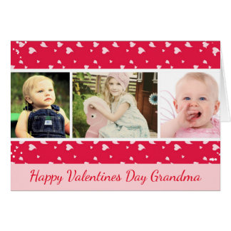 Valentines Day Photo Card for Grandma