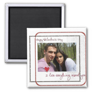 valentines day photo magnets