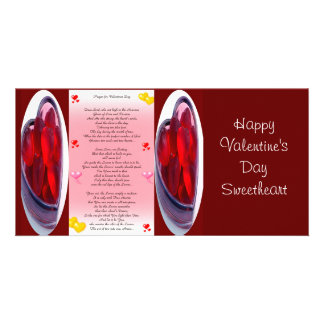 Valentine's day picture card