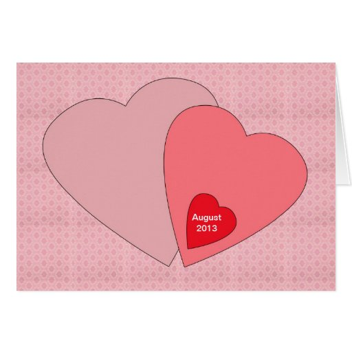 Valentines Day Pregnancy Announcement Card