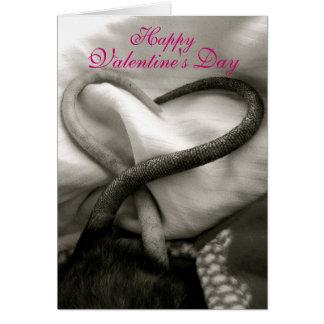 Valentine's Day Rat Card