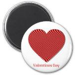 Valentine's Day Round Magnet Magnet