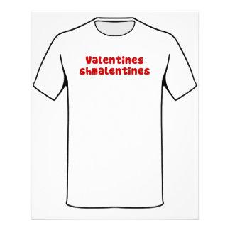 Valentines Day Schmalentines Day Flyers