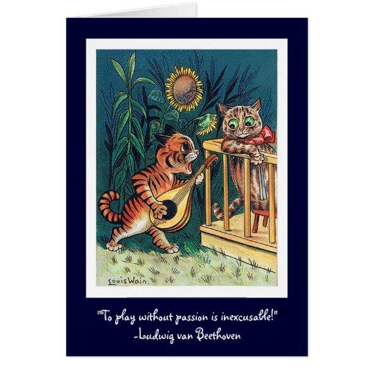 Valentine's Day Serenade Card