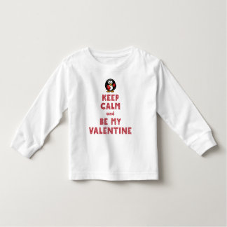 Valentines Day Shirts For Toddlers Keep Calm White