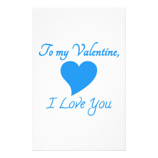 Valentines Day Special Stationery Paper