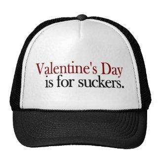Valentine'S Day Sucker Trucker Hat