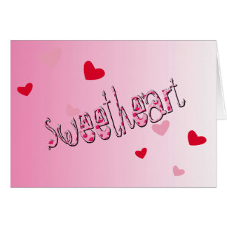 Valentine's Day Sweetheart Love is... Card