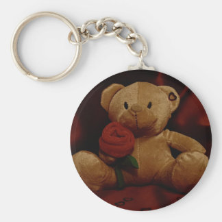 Valentine's Day Teddy Bear Key Chain