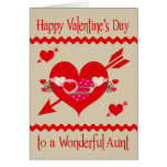 Valentine's Day to Aunt Greeting Card