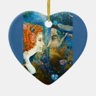Valentine's Day Token Ceramic Heart Decoration
