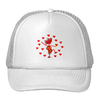 Valentines Day Whimsy Gifts & T Shirts Cap