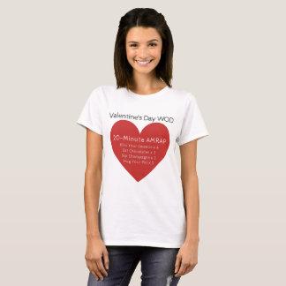 Valentine's Day WOD - Crossfit-Inspired Valentine T-Shirt