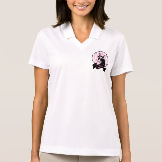 Valentines - Doberman Dog Silhouette Polo Shirt