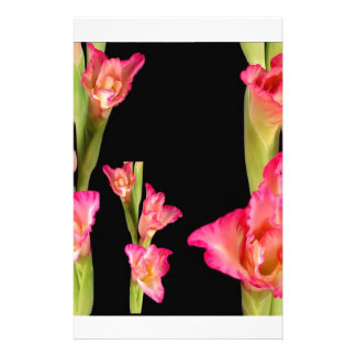 Valentine's Exotic Flower Romance Sensual Gifts Customized Stationery