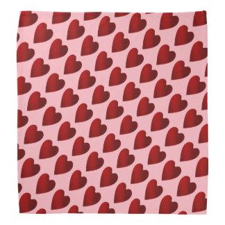 Valentines fashion accesory bandanas