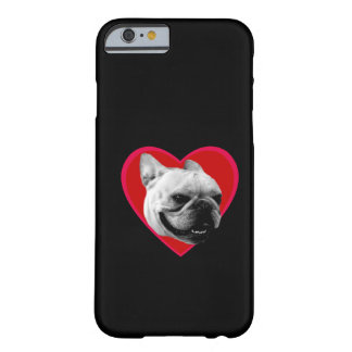 Valentine's French Bulldog Barely There iPhone 6 Case