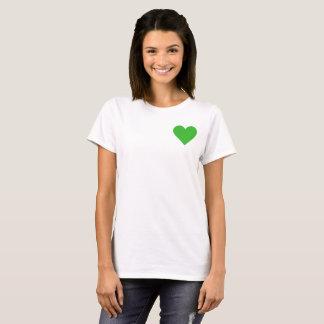 Valentine's Green Heart T-Shirt