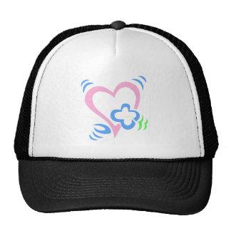 valentines mesh hat