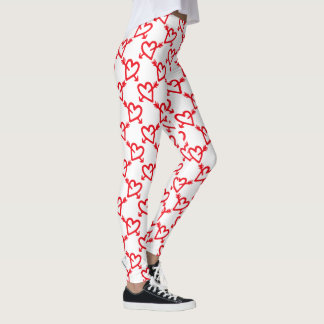 Valentine's Hearts and Arrows Leggings