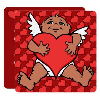 Valentine's Invitations Cupid Cards Custom