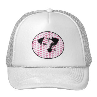 Valentines - Jack Russell Silhouette Hats