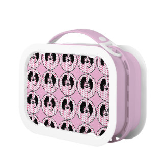 Valentines - Japanese Chin Silhouette Lunch Boxes