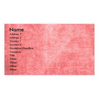 Valentines - Key to My Heart - Afghan Pack Of Standard Business Cards