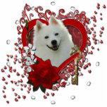 Valentines - Key to My Heart - American Eskimo