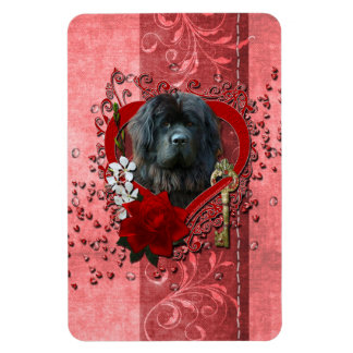 Valentines - Key to My Heart - Newfoundland Magnet