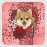 Valentines - Key to My Heart - Pomeranian