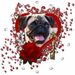 Valentines - Key to My Heart - Pug