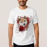Valentines - Key to My Heart - Shiba Inu Tshirt