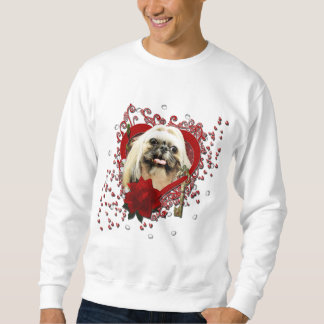 Valentines - Key to My Heart - Shih Tzu - Opal Sweatshirt