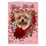 Valentines - Key to My Heart - Yorkshire Terrier